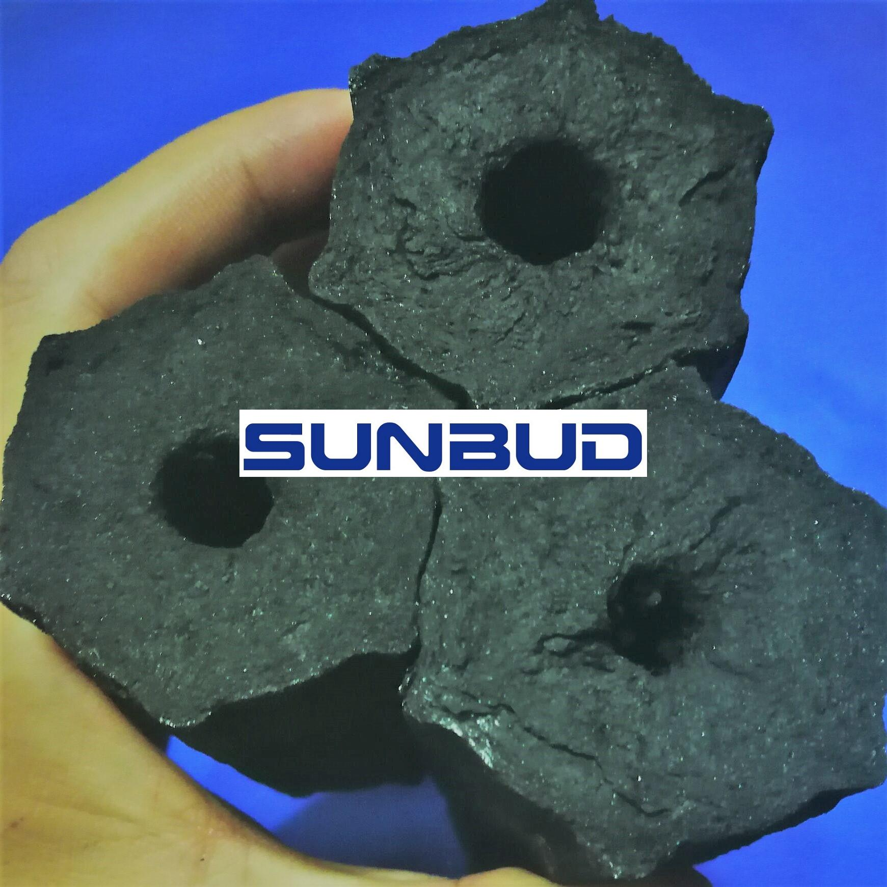 Hexagonal Bamboo Sawdust Briquette Charcoal (For BBQ & restaurant)